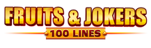 Fruits & Jokers: 100 lines logo