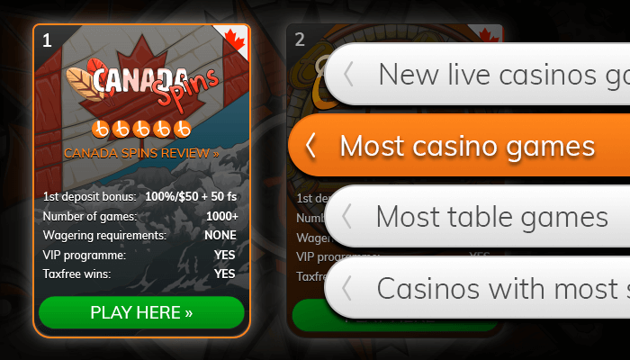 Find a casino with a lot of games from our list