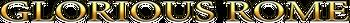 Glorious Rome™ logo