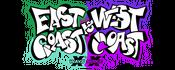 East Coast vs West Coast logo
