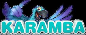 Vedonlyöntisivuston Karamba logo