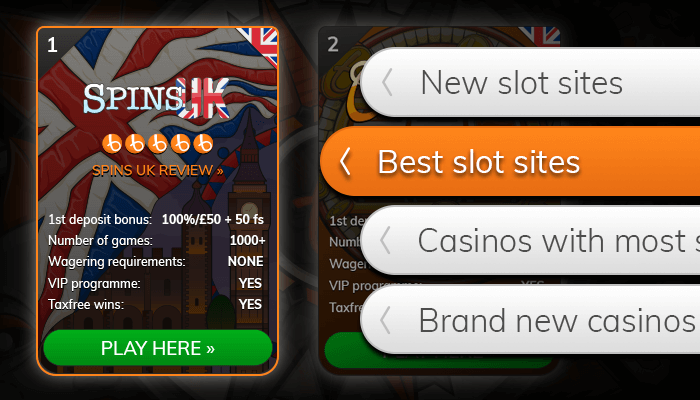 Find a best slot casino from our list