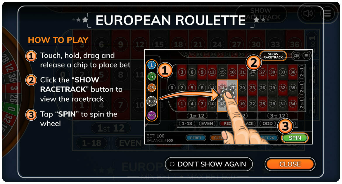 Roulette trainer app how to play