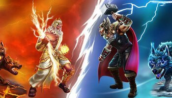 2 Gods Zeus vs Thor cover