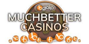 Find MuchBetter casinos on Bojoko!