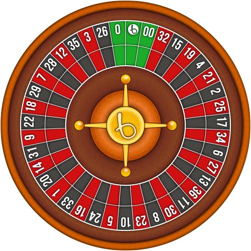 Triple zero roulette wheel