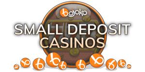 Small deposit US online casinos