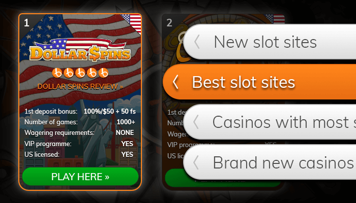 Find the casino that offers best online slots