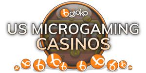 US Microgaming casino sites