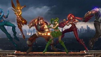 Super Heroes kansi