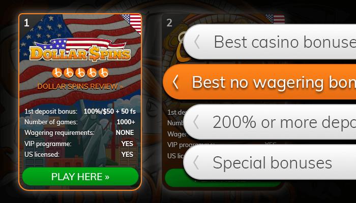 Find a casino with a big bonus