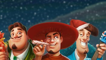 Taco Brothers Saving Christmas cover
