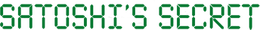 Satoshi's Secret logo