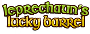 Leprechaun's Lucky Barrel logo