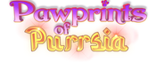 Pawprints of Purrsia logo