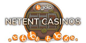 Find the best NetEnt casino on Bojoko