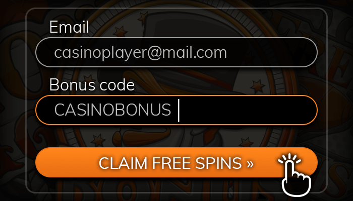 Claim your free spins