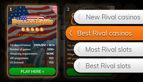 Browse our casino lists
