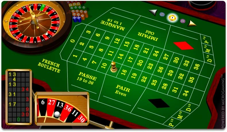 Microgaming-pelivalmistajan French Roulette, 2004