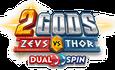 2 Gods Zeus vs Thor logo