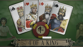 4 of a King cover