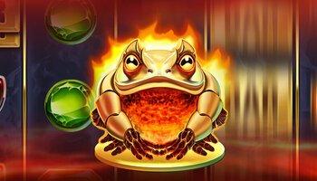 Blazin' Bullfrog cover