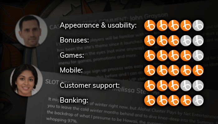 Read the 3D slot reviews of our experts and users