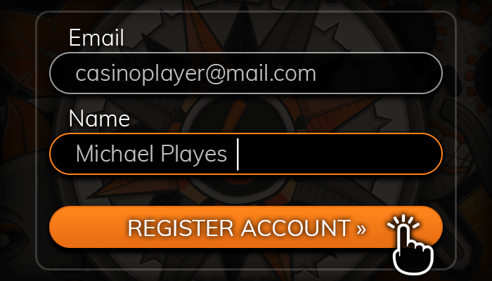 Register an account and deposit