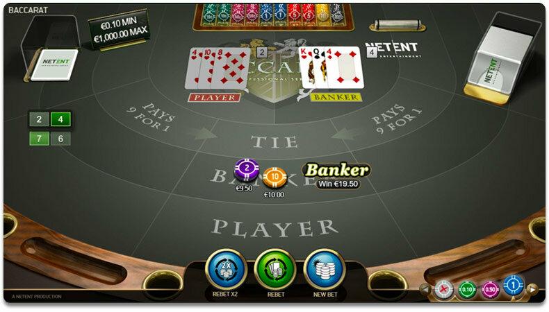 RNG baccarat demo play