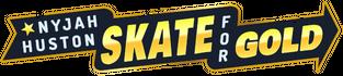 Nyjah Huston - Skate for Gold logo