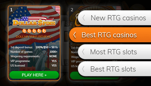 Find an alternative online casino from our list