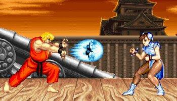 Street Fighter II™ kansi