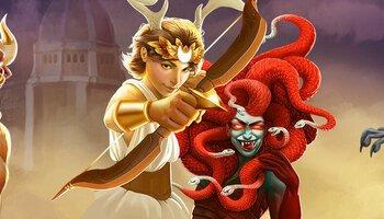 Artemis vs Medusa cover