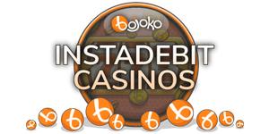 Find Instadebit casinos on Bojoko!