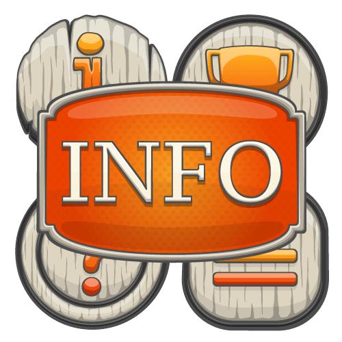 Online slot info button