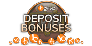 Find a casino deposit bonus from Bojoko!