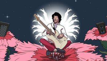 Jimi Hendrix Online Slot cover
